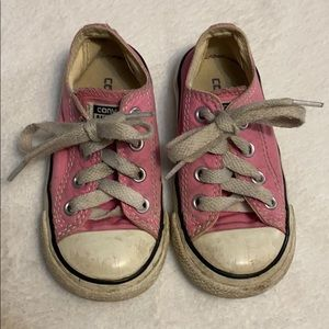 Converse all star toddler girl pink shoes